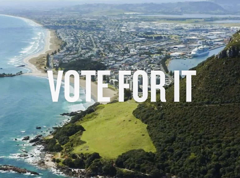 Tauranga City Council – If you love it vote for it